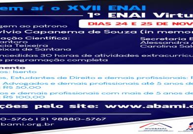 CONFIRA O VALOR DE INVESTIMENTO PARA O XVII ENAI:
