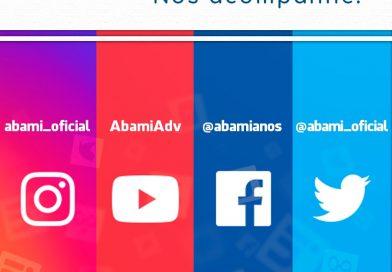 Você sabia que a ABAMI participa das maiores mídias sociais? 🤔