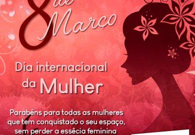 Feliz Dia da Mulher! 🌹