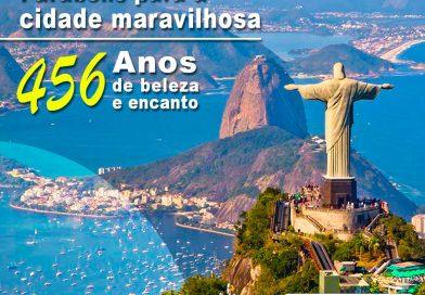 O RIO DE JANEIRO CONTINUA LINDO – PARABÉNS CIDADE MARAVILHOSA