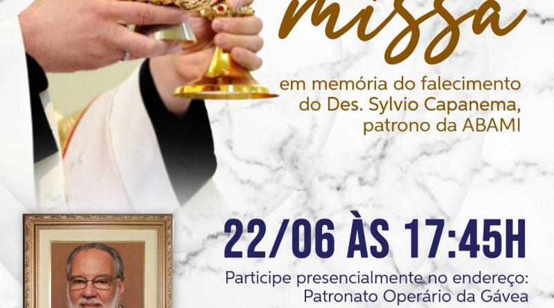 SANTA MISSA EM MEMÓRIA AO DES. SYLVIO CAPANEMA